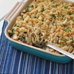 Chicken Tetrazzini HealthyAperture.com