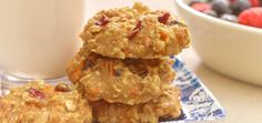 Carrot-Oat Cookies