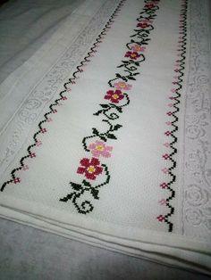 Cross Stitch Boarders, Cross Stitch Bookmarks, Cross Stitch Flowers, Cross Stitch Designs, Cross Stitch Embroidery, Cross Stitch Patterns, Flower Embroidery Designs, Embroidery Patterns, Swedish Embroidery