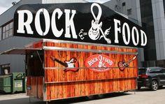 Werbung | Digitaldruck | Folie #folienbeklebung #Werbung #Ebinger #rock #Food Rock, Printmaking, Advertising, Printing, Skirt, Locks, The Rock, Rock Music, Stone