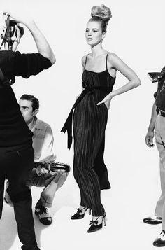 Harper's Bazaar - Party - Kate Moss