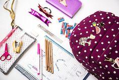 Bolsos y accesorios de Escritorio ideales para estudiantes, llenos de detalles que sorprenden