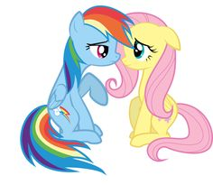 My Little Pony: Friendship is Magic Fluttershy and Rainbow Dash