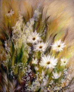 Картины из шерсти | Валяние | Magic Wool Art