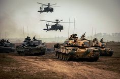 British Army Challenger II MBTs and Apache WAH-64 helos training together. (1830x1218) : MilitaryPorn
