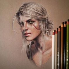 Ciri by CatapultedCarcass on @DeviantArt