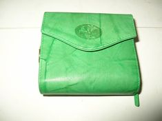 8335f6d28bb BUXTON Womens ACCORDION ZIP FRENCH WALLET Style 393F04 Green Leather Many  Pocket  fashion  clothing