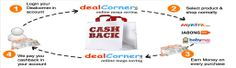 DealCorner.in is Provede Cashback offer on every single purchase in your dealcorner account