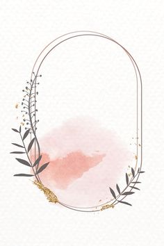 Glittery floral oval frame vector | premium image by rawpixel.com / marinemynt Bullet Journal Art, Bullet Journal Ideas Pages, Fond Design, Framed Wallpaper, Instagram Frame, Floral Logo, Frame Template, Oval Frame, Flower Backgrounds