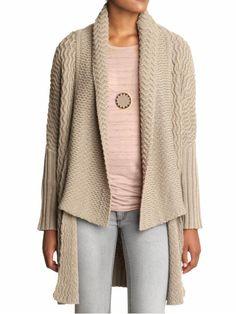 Oversized Cardigan Sweater Wrap