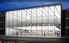 Foster + Partners has completed a major new Apple store close to Hangzhou's West Lake, which combines an understanding of the local context with the Retail News, Glass Structure, Foster Partners, Retail Experience, My Community, Apple Inc, Hangzhou, West Lake, The Expanse