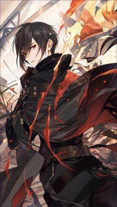 Dark Anime Guys, M Anime, Cool Anime Guys, Handsome Anime Guys, Chica Anime Manga, Anime Angel, Anime Chibi, Anime Love, Kawaii Anime