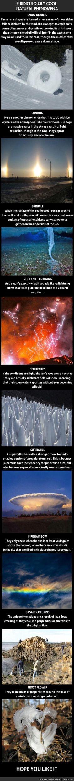 9 Amazing Natural Phenomenons