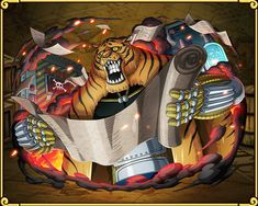 鉄人(サイボーグ)フランキー バルジモアの霊獣