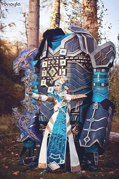Asura and Golem from Guild Wars 2 Cosplayer: Enayla Cosplay
