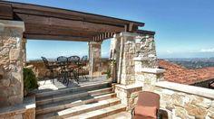 Malibu Rocky Oak Estate: Tuscan taste of California #wineproduction #luxuryestate #weddingslocations #californianlandscape #harvest #luxurygetaways #Californianwine #Californianlifestyle #helicopterlanding #awardwinningwines #oceanviews