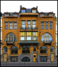 An Art Deco Tri-Combination House Antwerp - Zurenborg. The Golden Triangle of Art Nouveau