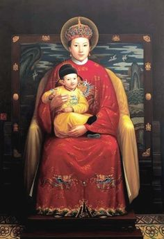 Unknown Artist. Our Lady of China. Chinese. 20th century