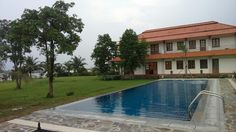Rectang outdoor pool