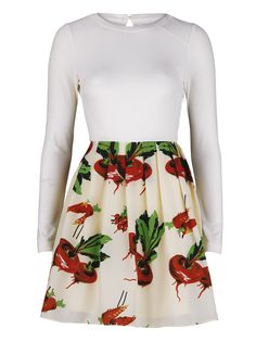 Radish print dress - Diana Vickers