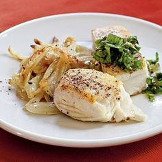 Halibut with Caper Salsa Verde | CookingLight.com