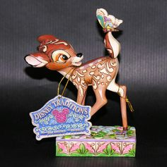 Disney Showcase Collection Bambi Jim Shore Wonder of Spring