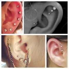 Ear Piercings. I have wanted a triple helix for years. Will someone do it for me??