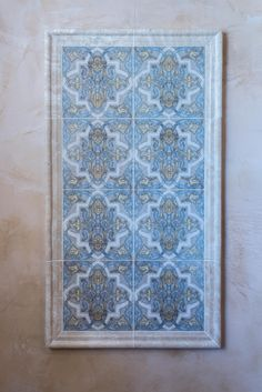 Strongly influenced by Moorish and Spanish design, the Isabella Mural by StoneImpressions beautifully depicts the feelings and influences of Mediterranean designs. Spanish Design, Mediterranean Design, Decorative Tile, Moorish, Tile Patterns, Photoshop, Stone, Bathroom, Wall