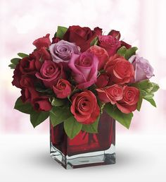 Madly in Love Bouquet - Turn up the heat with your love this Valentine's Day