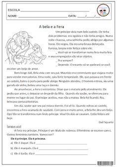 Interpretação; conto de fadas; gramática; língua portuguesa.                                                                                                                                                     Mais
