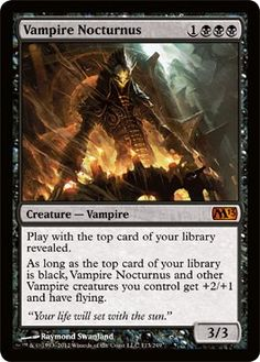 Magic: the Gathering - Vampire Nocturnus (113) - Magic 2013 by Wizards of the…