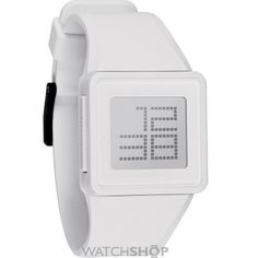 Shop for Nixon Men's Newton White Digital Silicone Strap Watch. Get free delivery On EVERYTHING* Overstock - Your Online Watches Store! Cool Watches, Watches For Men, Nixon Watches, Popular Watches, Dream Watches, Wrist Watches, Mens Watches Online, Neutral, Mens Toys