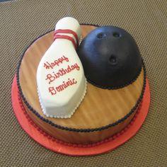 Cake Anatomy -Bowling Party
