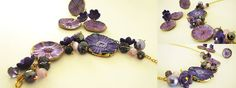 Purple magic polymer clay necklace: http://agencyra.com/lilava-magija-ot-polimerna-glina-pozlata-komplekt-bizhuta-p-806.html