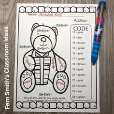 You will love the ease of this Christmas Color By Number Critters Three Addend Addition resources and your students will adore these Christmas Color By Number worksheets while learning and reviewing important skills at the same time! You will love the no prep, print and go ease of these printables. ... Christmas Color By Number, Christmas Colors, Addition Activities, Fun Activities, Fifth Grade, Second Grade, Classroom Management Tips, Number Worksheets, Color By Numbers