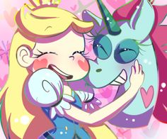 Star Butterfly and Pony Head // Star vs. the forces of evil // Disney