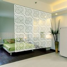 Acrylic screen brief vintage square acrylic decoration entrance screen partition