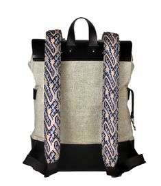 Discover Mexican Culture Through our unique Backpacks Handcraft item Materials: Genuine Long Lasting Durable Leather, Handmade Natural Leather, Metal Buckles, loom made in Chiapas. Includes a repair kit for the leather Unique Backpacks, Metal Buckles, Natural Leather, Loom, Gym Bag, Mexican, Culture, Kit, Handmade