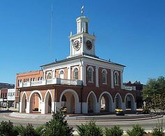 Fayetteville, NC in North Carolina This is where I grew up. This is a picture of the Market House downtown.I graduated from Fayetteville Senior High school which is now Terry Sanford High. Mary T.