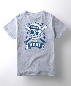 Athletic Heather 'Bring the Heat' Tee - Kids