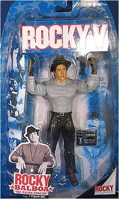 47 Ronin, Street Fights, Rocky Balboa, Custom Action Figures, Sports Toys, Sylvester Stallone, Best Memories, Cool Toys, Vintage Toys