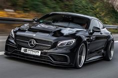 Mercedes S Class Coupe Wide Body Kit by Prior Design