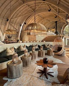 Michaelis Boyd Associates (MBA), the London based architecture and design practice, has completed work on Sandibe, a new sustainable safari lodge in the Okav. Interior Design Magazine, Cafe Interior, Interior And Exterior, Interior Ideas, Lobby Interior, Interior Inspiration, Interior Decorating, Design Inspiration, Bamboo House