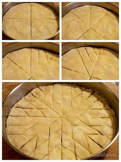 Greek Sweets, Greek Desserts, Greek Recipes, Sweet Buns, Sweet Pie, Candy Recipes, Gourmet Recipes, Cooking Recipes, Food Network Recipes