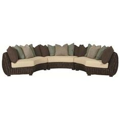 Creative option instead of couch, love seat, or traditional sectional