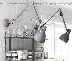 DIY – ARÖD SKRIVBORDSLAMPA SOM VÄGGLAMPA | @my casa