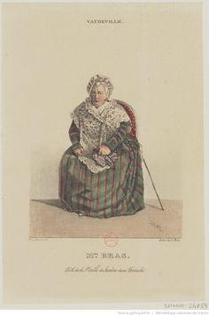 Mme Bras, rôle de la Vieille de Surêne dans Léonide, Vaudeville : [estampe]…