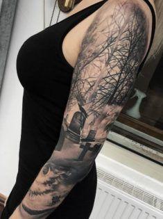 A Pale Horse Named Death Tattoo