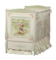 This charming cottage crib is part of the Enchanted Forest nursery collection. The crib measures 31