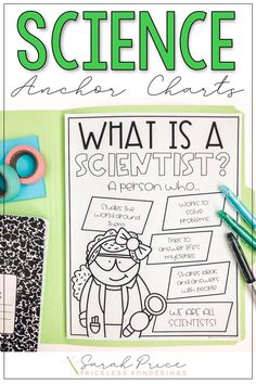 Grab some free traceable anchor charts to help you teach your class about scientists and what a scientist is! Click the picture to learn more! Science Resources, Science Ideas, Science Activities, Teacher Resources, Classroom Freebies, Classroom Posters, Classroom Displays, Scientist Anchor Chart, Science Anchor Charts